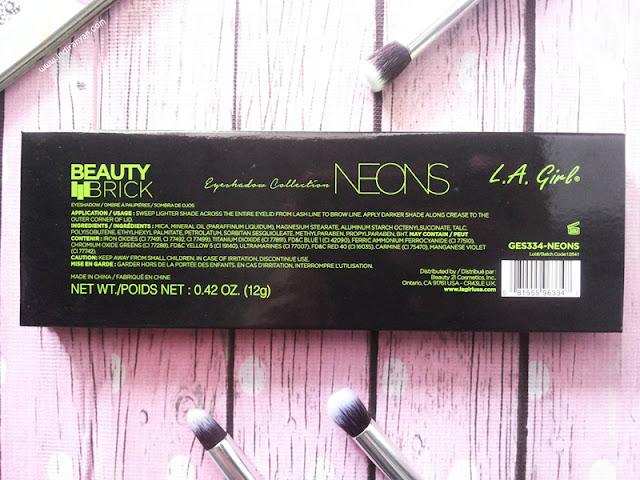 LA Girl Beauty Brick Neons