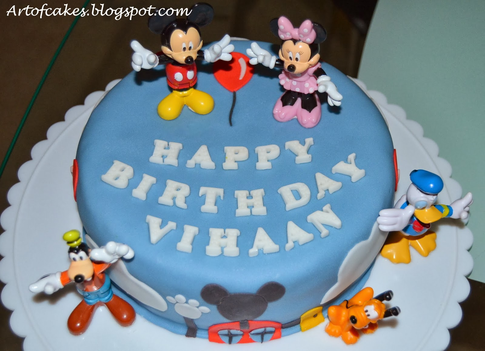 Cake Designs For 1 Year Boy : Art Of Cakes: Mickey Mouse Clubhouse Cake