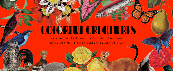 ::: COLORFUL CREATURES JAPANESE :::