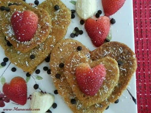 Tinfoil pancake molds