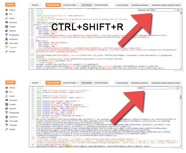 Cara Mengatasi Error pada Blogspot Setelah Mengaktifkan HTTPS
