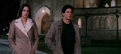Hot Katrina Kaif, Sizzling Chemistry with Shahrukh Khan in Jab Tak Hai Jaan