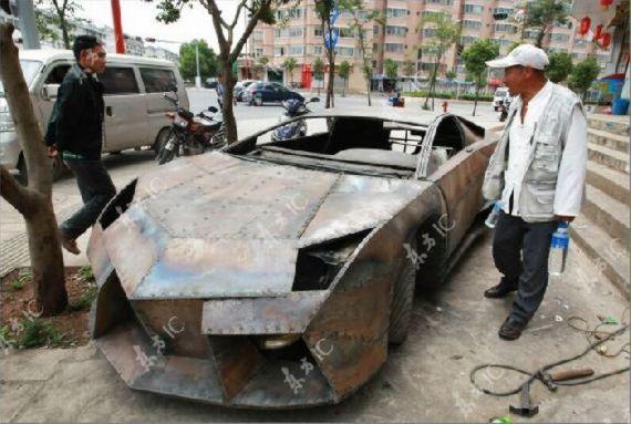 Lamborghini Reventon Buatan China.