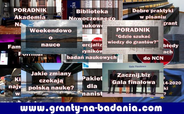 Serwis www.granty-na-badania.com ma już rok