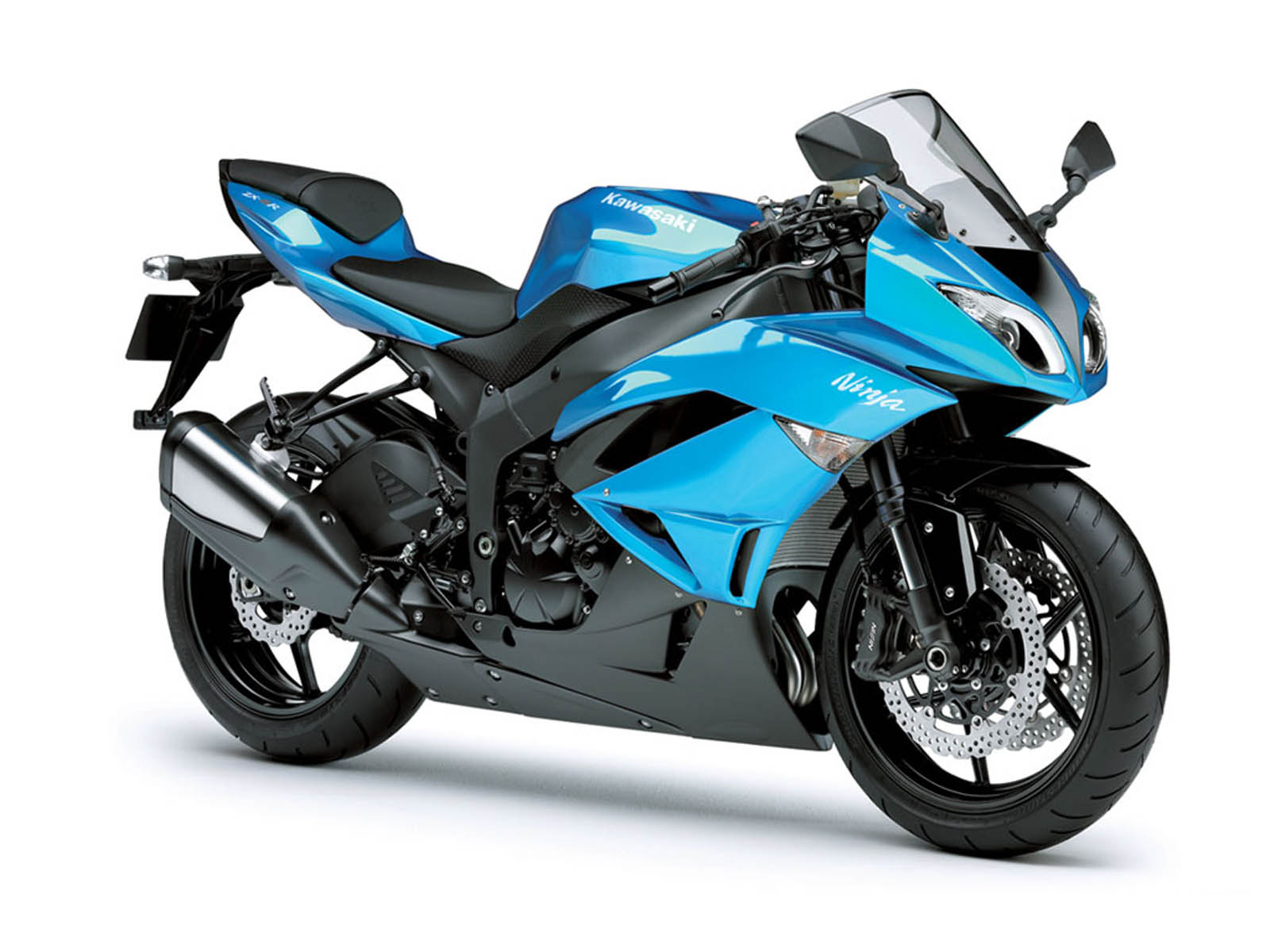 Kawasaki Ninja ZX 6R Wallpaper Kawasaki Motorcycles  - kawasaki ninja zx 6r blue wallpapers