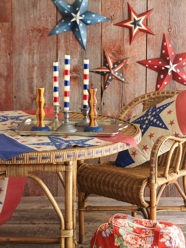 diy home decor ideas on a budget For4th Of July Home Decorations