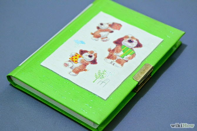 How to Make a Scrapbook Diary