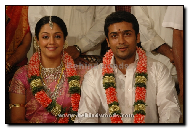 Tamil Actress Hot Wallpapers Suriya Amp Jothika Marriage Photos