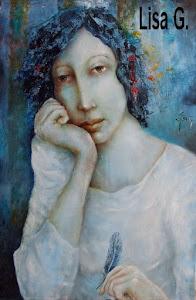 autoportrait bleu (vendu)