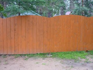 Деревянный забор. Фото 16
