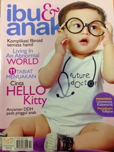FEATURED IN IBU & ANAK MAGAZINE