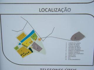 Plano da Praia Fluvial