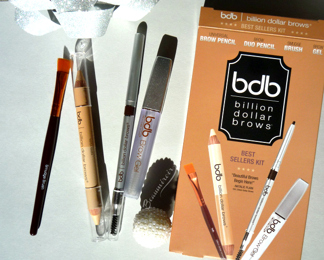Billion Dollar Brows: 60 Seconds To Beautiful Brows Kit and Best Sellers Kit Review