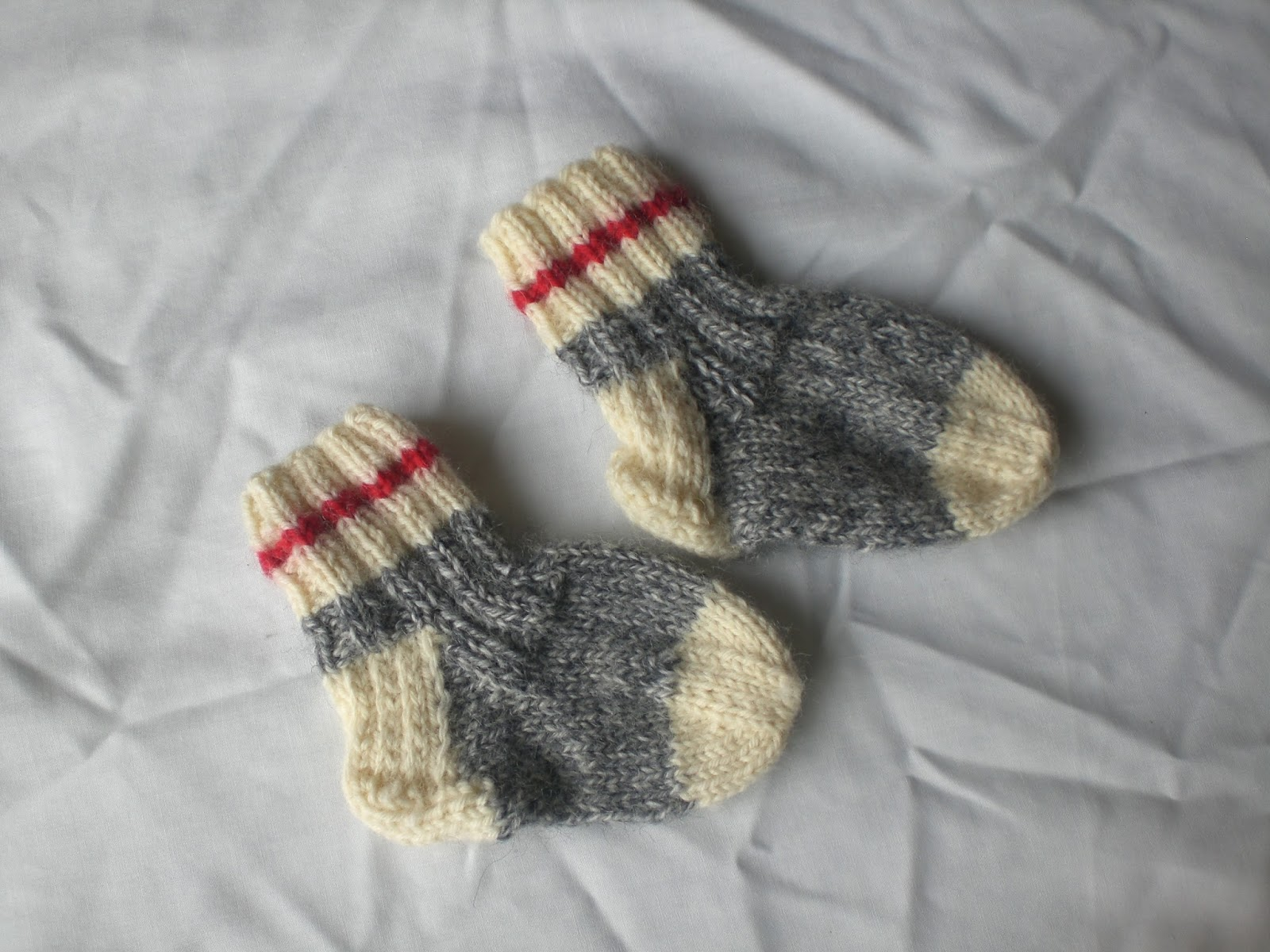 Knitting Pattern Baby Tights : Luvsknitting: Work Socks For Baby