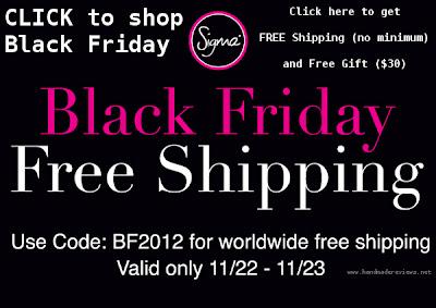 Sigma Black Friday 2012 Free Shipping Code