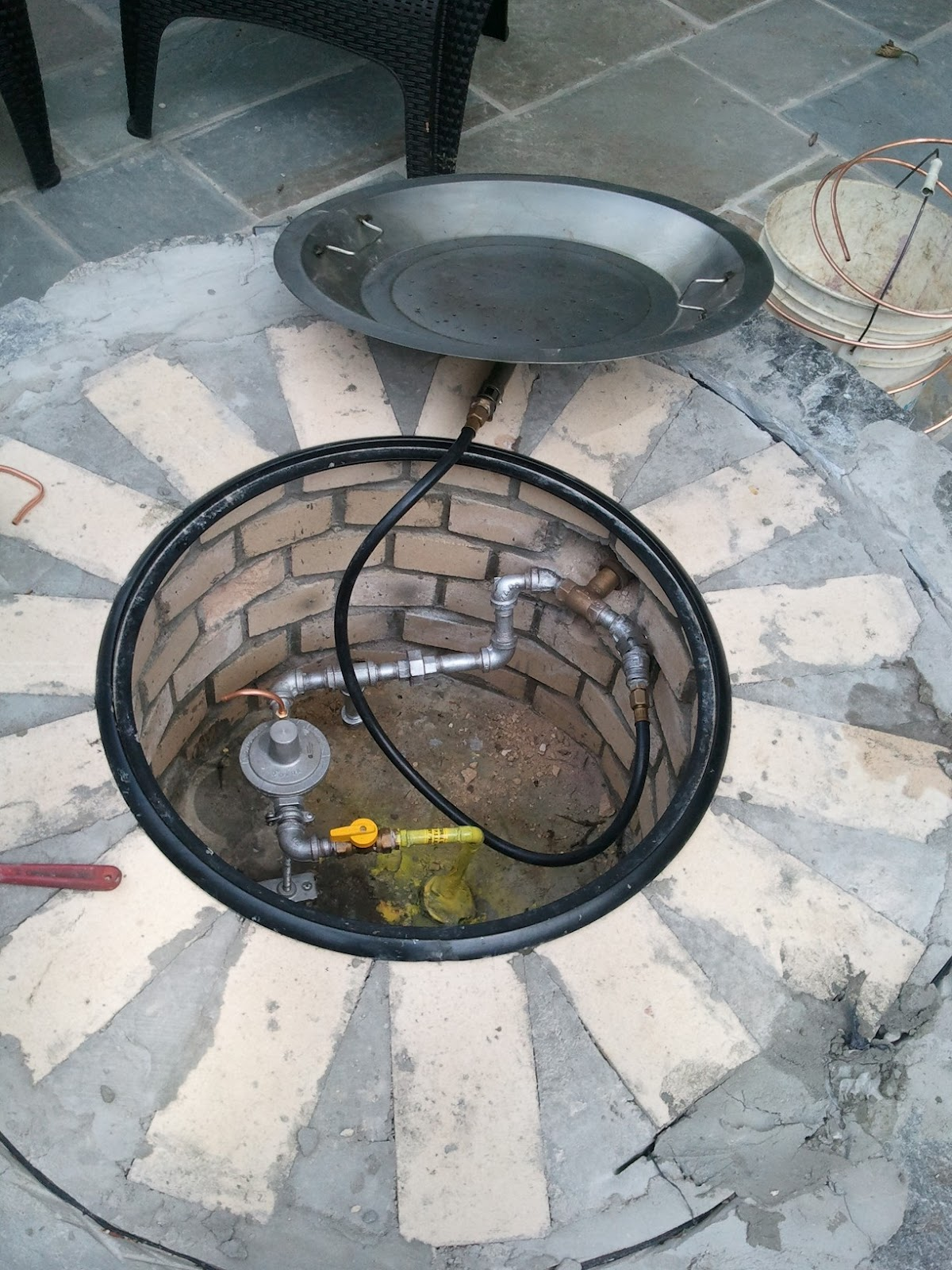 Gas Line and Fire Pit Installation - Kramer & Sons Plumbing, Heating & Air Conditioning: Gas Line And