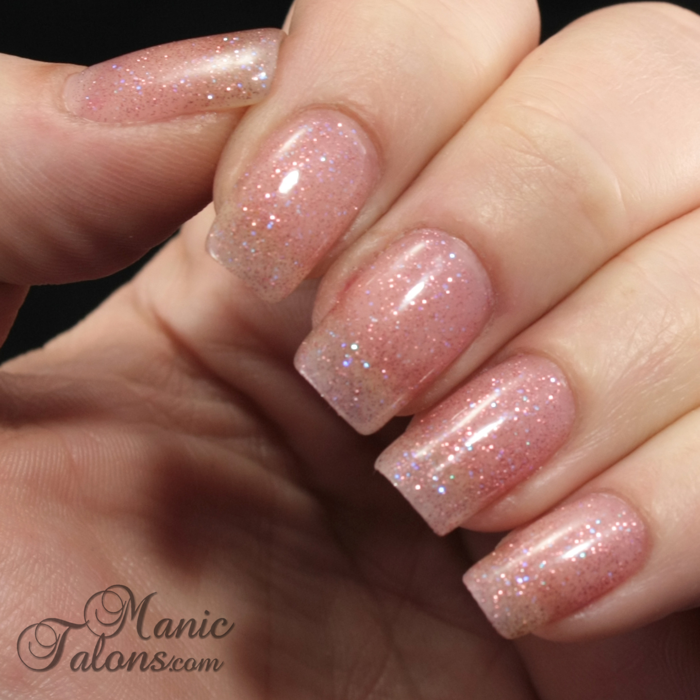 Daisy DUO Soak Off Gel Polish Forgotten Pink Swatch