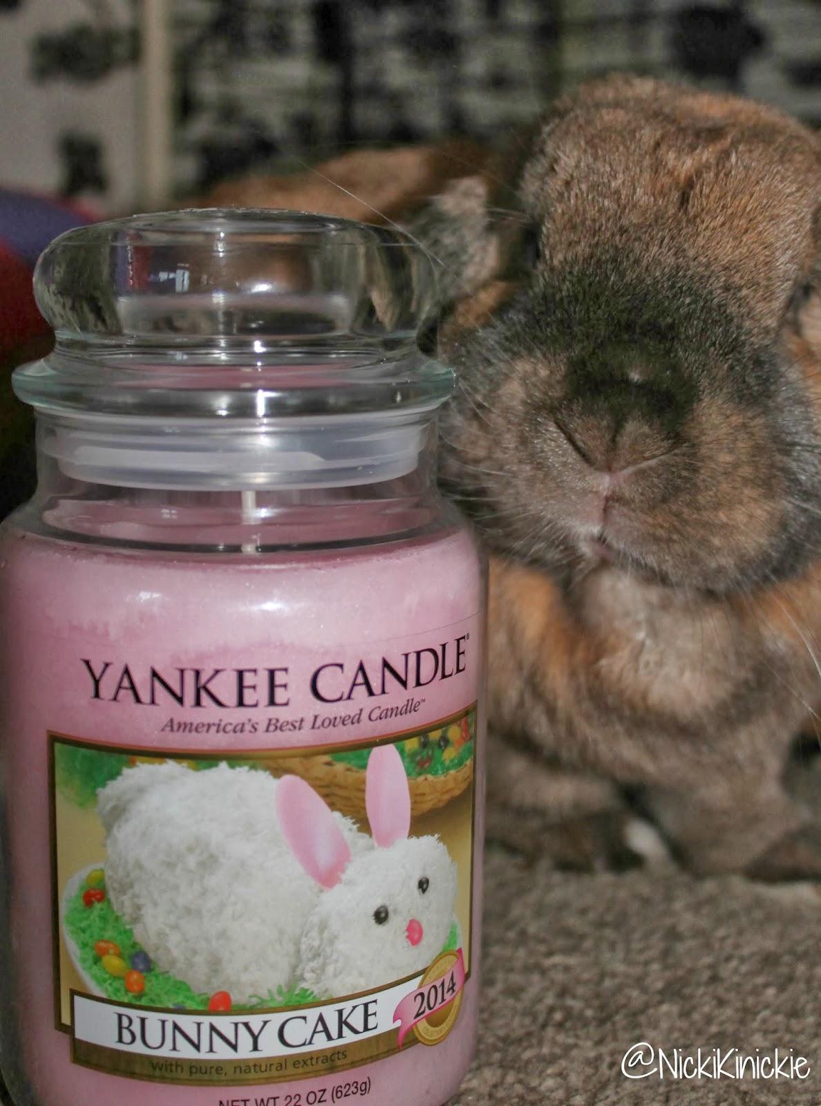 Yankee Candle Bunny Cake