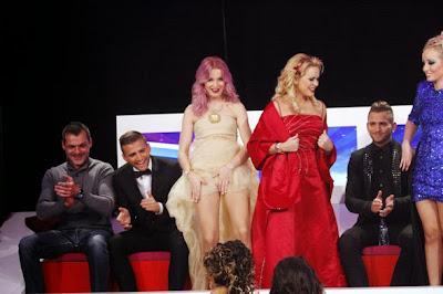 Yana Protasova mostra as cuecas na gala da Casa dos Segredos