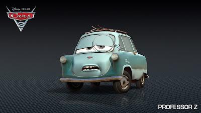 Professor Z - Cars 2 Película