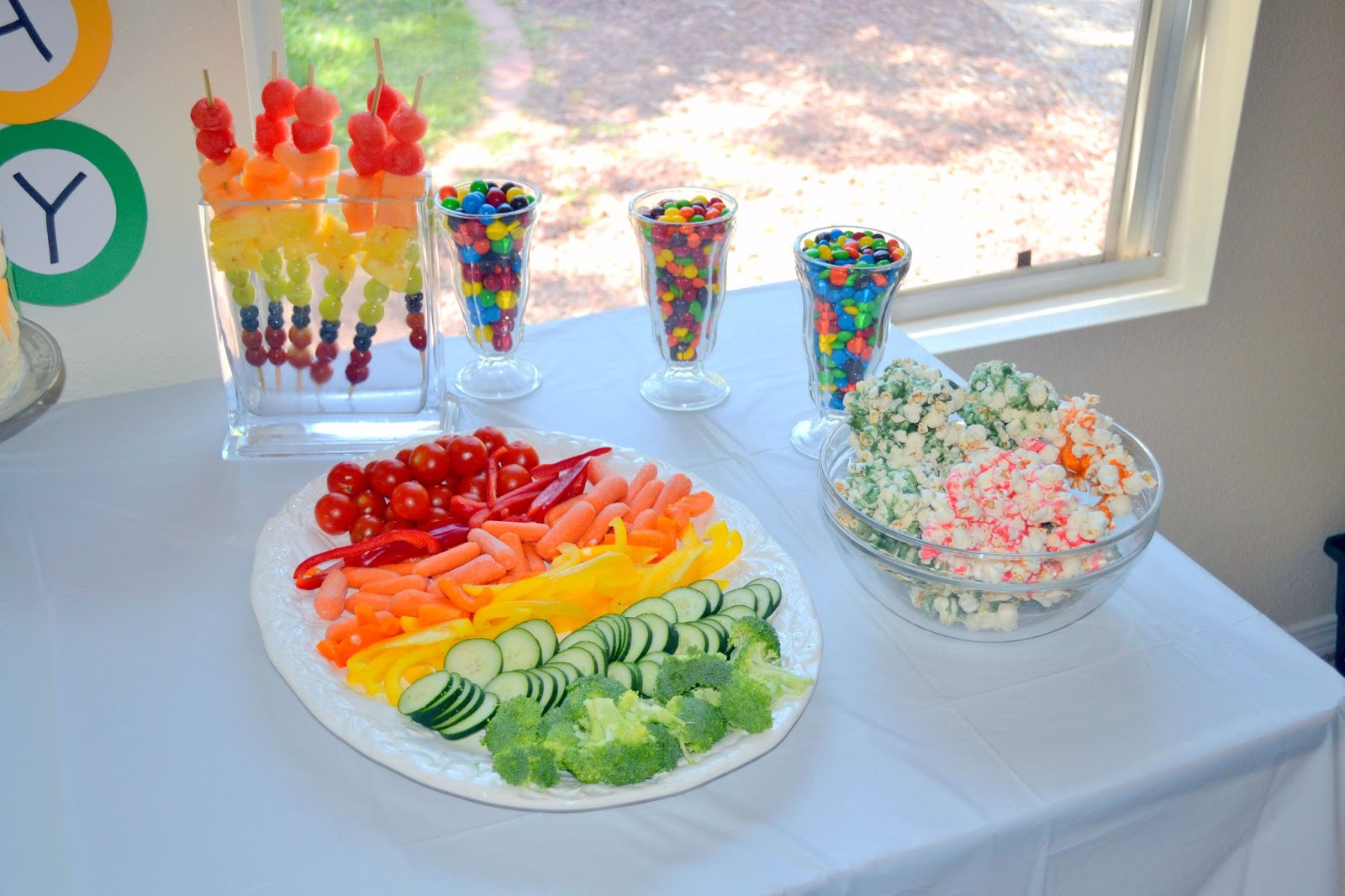 My Little Pony Birthday Party Food Ideas Rainbow birthday party