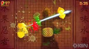 Fruit ninja game ios terlaris saat ini