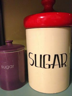 Vintage Sugar Jar