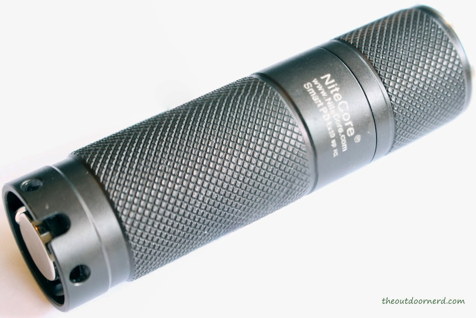 Nitecore Ex10 1xCR123A Flashlight : Side View