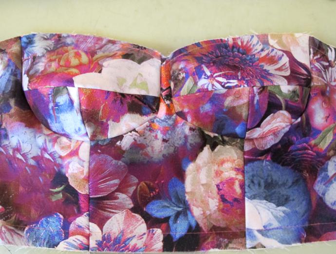 oonaballoona | a sewing blog | burdastyle bustier dress