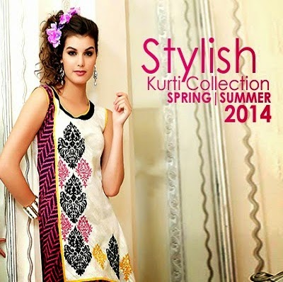 Stylish Kurti Collection 2014