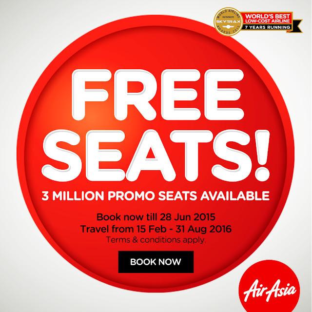 airasia free seats, air asia