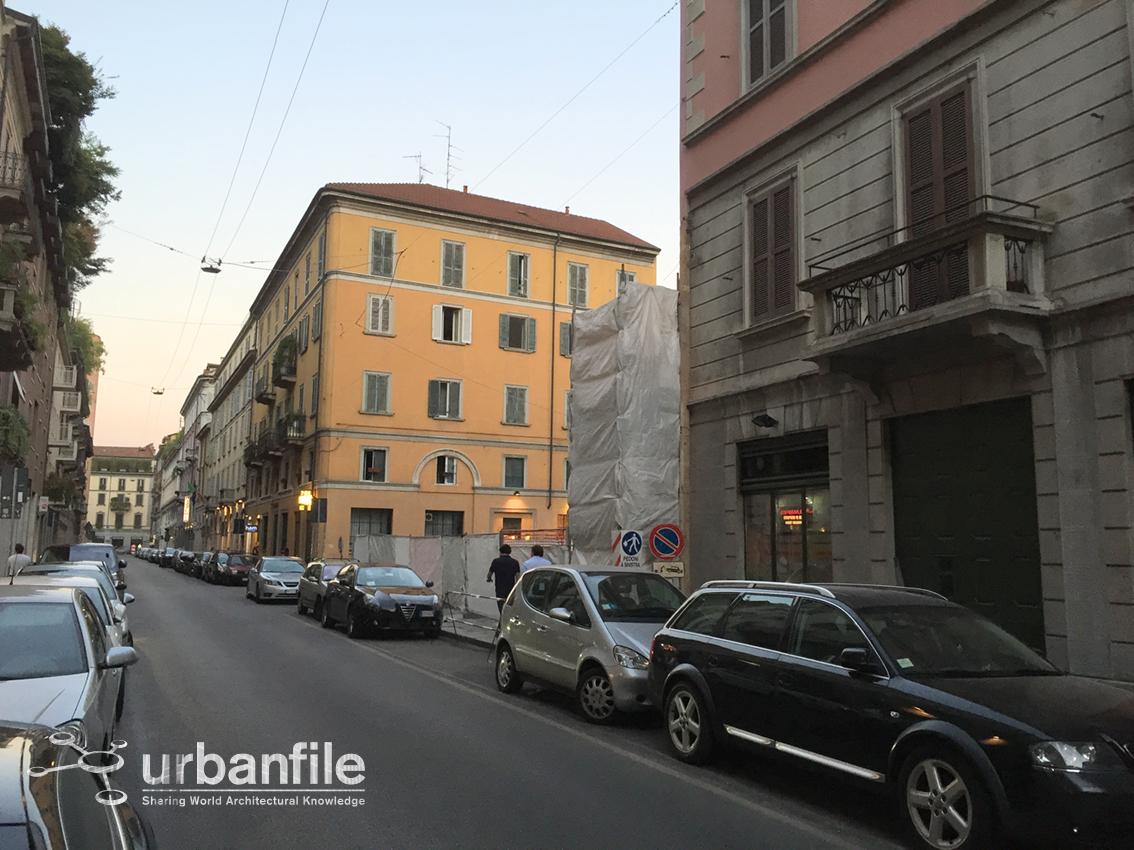 urbanfile milano zona brera partite le demolizioni in