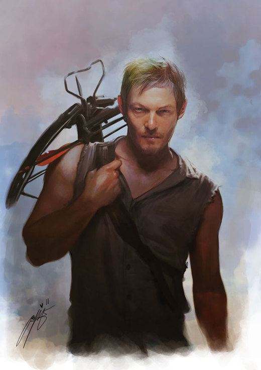 Daryl Dixon - The Walking Dead por brilcrist