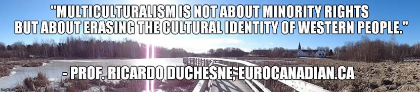 click pic - Prof. Ricardo Duchesne - author and founder of Council of European Canadians