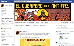 El Guerrero del Antifaz en Facebook