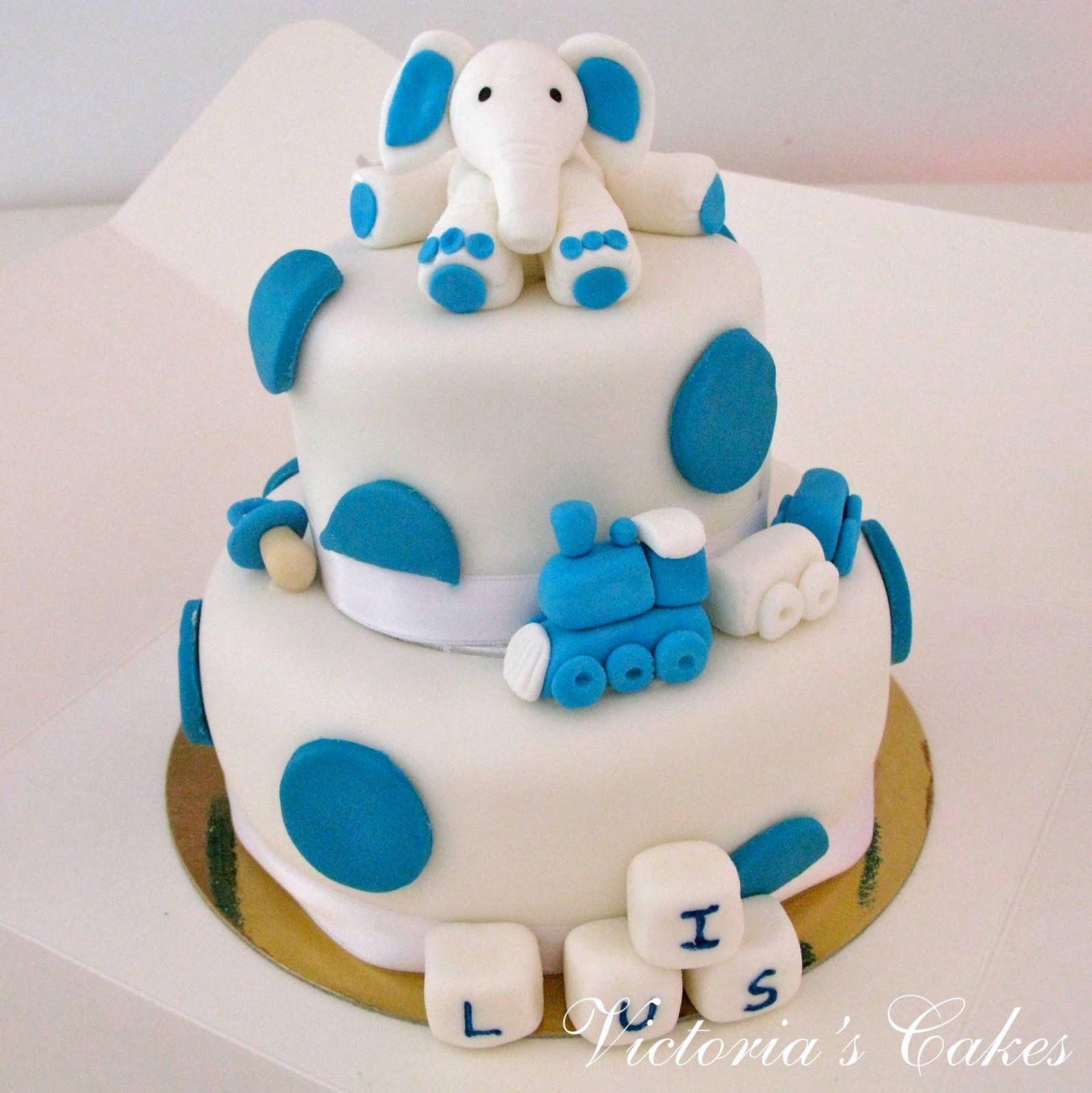 Torta de Bautizo - YouTube