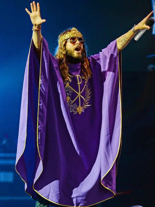 Jared Leto es el rey del rock