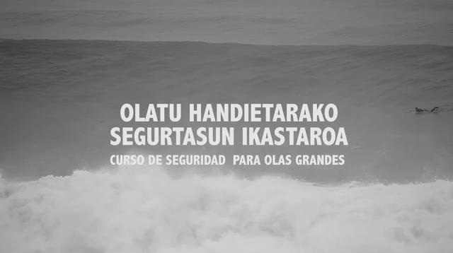 curso de seguridad olas grandes surf