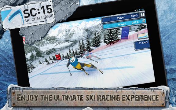 Ski Challenge 15 Gameplay