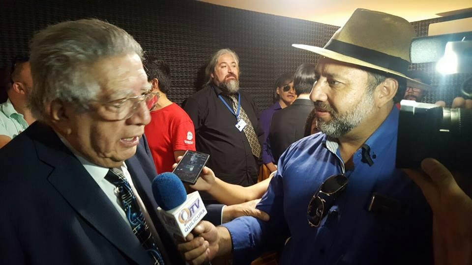 """Quilicura TV en Inauguración del Centro de Producción Musical """"valentín Trujillo en Quilicura."""