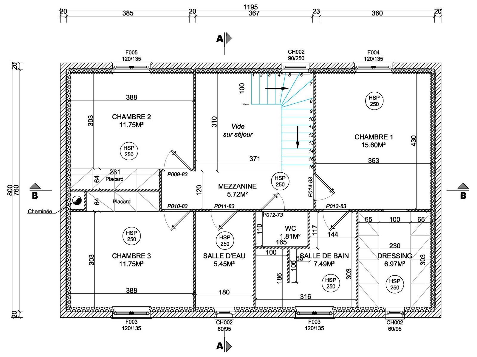 Maison manue et seb les plans de la maison for Le plan de la maison