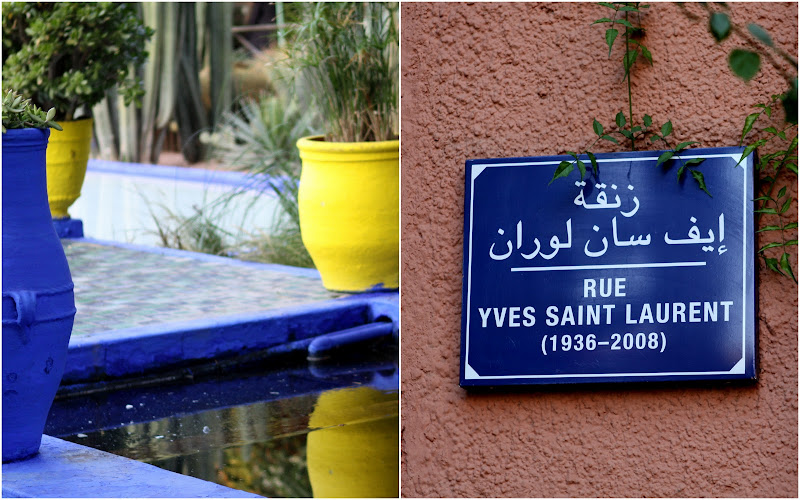 Stina auer yves saint laurent jardin majorelle garden for Jardin yves saint laurent