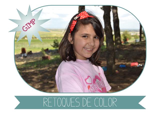 Retocar el Color de nuestras fotos en GIMP