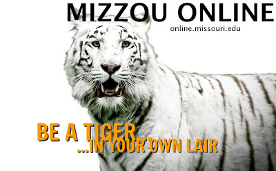 picture of a tiger. slogan: be a tiger... ...in your own lair.