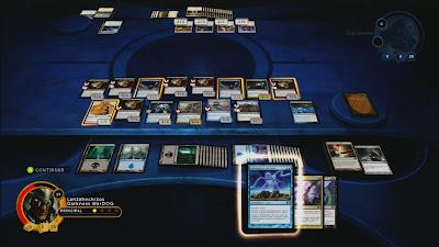 Se puede ver como tengo hasta 6 demonios en mesa jugando a Magic 2014