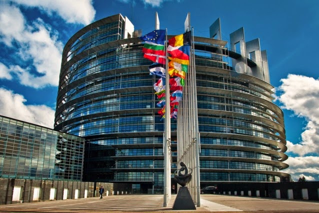 The Parliament of the European Union in Strasbourg, France.  (Credit: Shutterstock) Click to enlarge.
