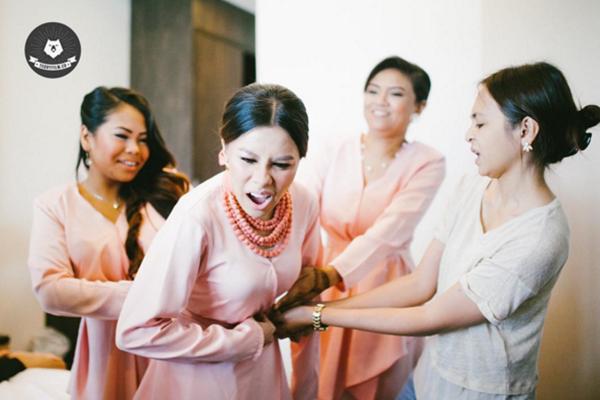(Gambar) Kejadian Pelik Berlaku Di Majlis Perkahwinan Nad Zainal