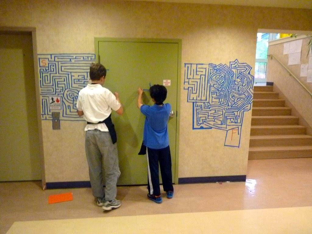 Peabody Art: 7 - a Giant Maze Collaboration