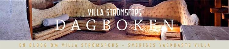 Villa Strömsfors dagbok