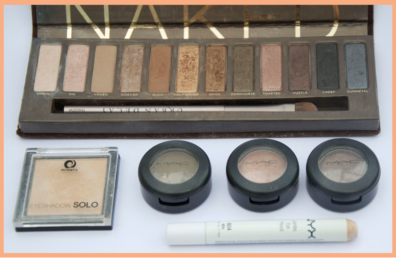 ESSENTIAL SUMMER MAKEUP NAKED MAC MINERS STARDUST NYX